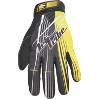 Spike GP-30 Gloves - Yellow PWC Jetski Ride & Race Gear