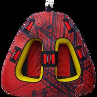 Triangle Towable - Spike Red PWC Jetski Ride & Race Recreation