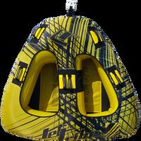 Triangle Towable - Spike Yellow PWC Jetski Ride & Race Recreation