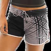 Spike Ladies Shorts - Grey PWC Jetski Ride & Race Apparel