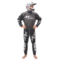 Dry Suit - Black PWC Jet Ski Ride & Race Freestyle