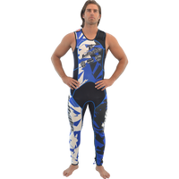 John Only - Shattered Blue Wetsuit PWC Jet Ski Ride & Race (Pre-Order)