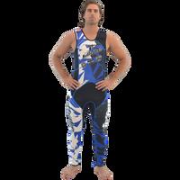 John Only - Shattered Blue Wetsuit PWC Jet Ski Ride & Race