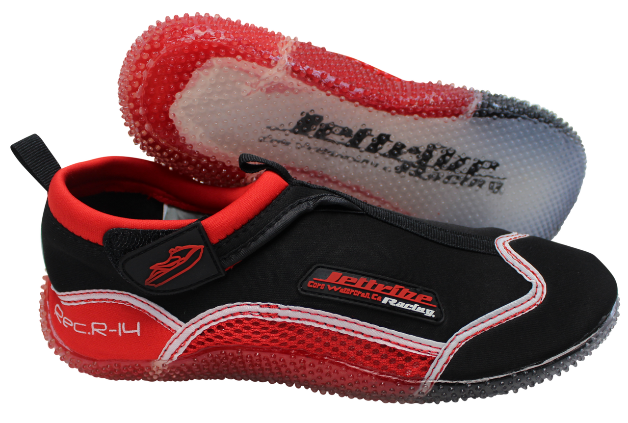 cb6ef05aa ... Rec R-14 Ride Shoes Red   Black PWC Jetski Ride   Race Gear. Image 1 ·  Image 1 · Image 2 ...