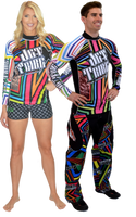 Longsleeve Rashguard Shockwave Multi PWC Jetski Ride & Race