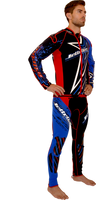 Shockwave Red / Blue Wetsuit PWC Jet Ski Ride & Race Freerider