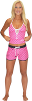 Hash Ladies Board Shorts Pink PWC Jetski Ride & Race Apparel