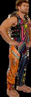 UR-20 Side Entry Vest Multicolor PWC Jetski Ride & Race Jacket