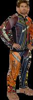 Bravo II - Multicolor Wetsuit PWC Jet Ski Ride & Race Freestyle