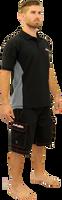 Polo Men's Shirt Black PWC Jetski Ride & Race Jet Ski Apparel