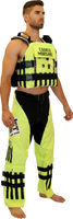 JTG 13430-S SPECIAL FORCES COURSE MARSHAL VEST - Safety Yellow