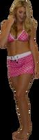 Hash Swim Skirt - Pink PWC Jetski Swimwear