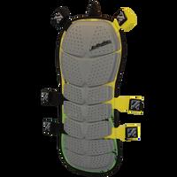 Striker Back Deflector - Yellow/Green FRONT