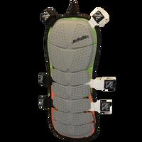 Striker Back Deflector - Green/ Orange-  Front