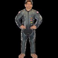 Classic Grey Wetsuit PWC Jet Ski Ride & Race Jetski Freestyle