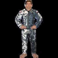 Shattered Grey Wetsuit PWC Jetski Ride & Race Jetski Freestyle