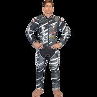 Scratch Grey Wetsuit PWC Jet Ski Ride & Race Jetski Freeride