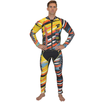 Scratch Orange Wetsuit PWC Jet Ski Ride & Race Jetski Freeride