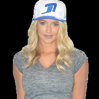 Icon Hat White/Blue PWC Jetski Ride & Race Jet Ski Accessories