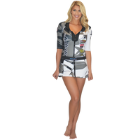 Trophy Girl Dress Shattered Grey PWC Jetski Ride & Race Apparel