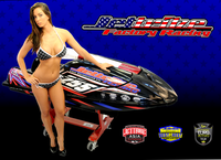 Poster of Jettribe Hottie / Model Janna Jetski PWC Race & Ride