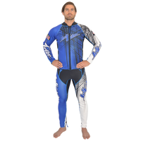 Spike Wetsuit Blue PWC Jet Ski Ride & Race Freestyle