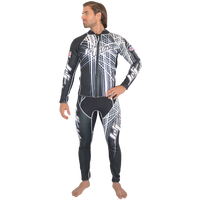 Spike Wetsuit-Black PWC Jet Ski Ride & Race Freestyle