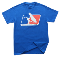 Freestyle League T-Shirt Blue PWC Jetski Ride & Race Apparel