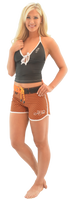 Kylie Shorts - Orange PWC Jetski Ride & Race Apparel