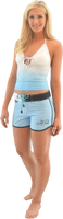 Kylie Shorts - Blue PWC Jetski Ride & Race Apparel