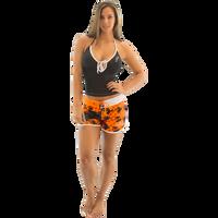 Ladies Cross Hatch - Orange PWC Jetski Ride & Race Apparel
