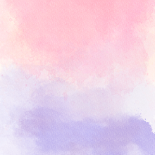 Watercolour Pink and Lilac Ombre Photography Backdrop