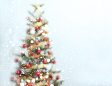 lovely simple bokeh christmas tree photography backdrop