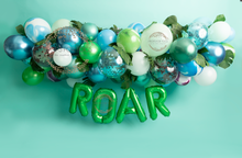 Roar- dinosaur themed backdrop ..available with a floor or just as a wall , please say in the notes which you would like please