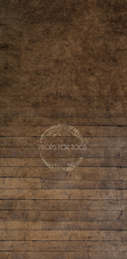Rustic studio floor gradually fading to a  rich textured wall  photographers backdrop
