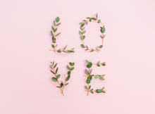 Valentine  photographers backdrop-  Photography Backdrop pink simple LOVE