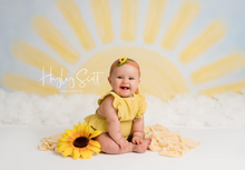 Hello Sunshine 60 x 80 pro canvas in use .. photo credit to @Hayley Scott photography