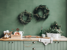Skandi Xmas kitchen- photographers backdrop