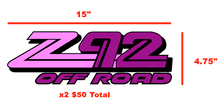 Robin Custom Z92 Decals
