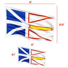 John Newfoundland Flag Perf Temp