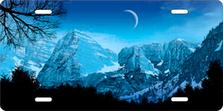 Blue Mountains Scenic Auto Plate sku T2260B