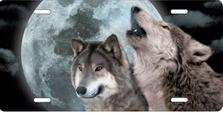 Moon Wolves Auto Plate sku T2250ZC