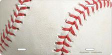 Baseball Auto Plate sku T2574