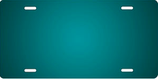 Teal Ringer Auto Plate sku T2840TL