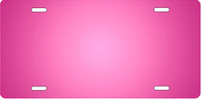 Pink Ringer Auto Plate sku T2840R