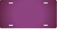 Purple Ringer Auto Plate sku T2840K