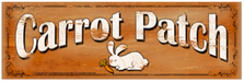 Carrot Patch Wood Sign sku WS301