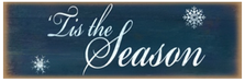 'Tis The Season Wood Sign sku WS106