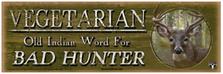 Vegetarian Wood Sign sku WS9100BH