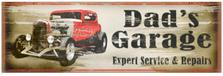 Dad's Garage Wood Sign sku WS1260